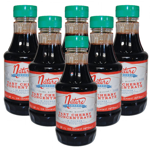 <p>100% Natural. Great Tasting! 6-Pints of Tart Cherry Concentrate<br />Simply add two tablespoons (one ounce) of tart cherry concentrate to any liquid — water, cola, seltzer, etc, and you will get the power of 60 fresh tart cherries in a single serving. You'll enjoy a great tasting drink.</p>
