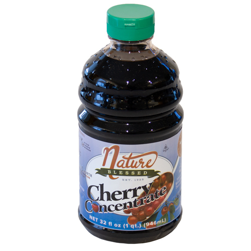 <p>100% Natural. Great Tasting! 1-Quart of Tart Cherry Concentrate<br />Simply add two tablespoons (one ounce) of tart cherry concentrate to any liquid — water, cola, seltzer, etc, and you will get the power of 60 fresh tart cherries in a single serving. You'll enjoy a great tasting drink.</p>
