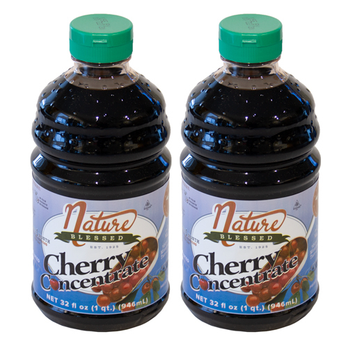 <p>100% Natural. Great Tasting! 2-Quarts of Tart Cherry Concentrate<br />Simply add two tablespoons (one ounce) of tart cherry concentrate to any liquid — water, cola, seltzer, etc, and you will get the power of 60 fresh tart cherries in a single serving. You'll enjoy a great tasting drink.</p>